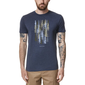 tentree Spruced Up T-Shirt Men dress blue heather